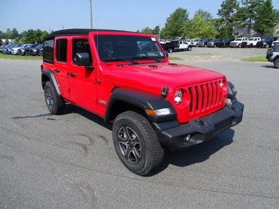 New 2020 Jeep Wrangler 4WD Unlimited Sport - 528446414