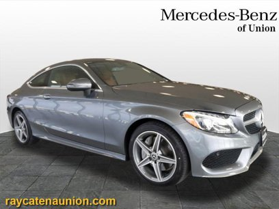 Certified 2018 Mercedes-Benz C 300 4MATIC Coupe - 567590604