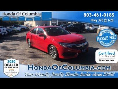 Certified 2018 Honda Civic EX Sedan - 567830903