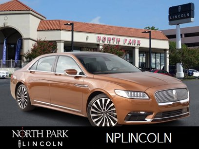 Certified 2017 Lincoln Continental AWD Black Label - 563142450