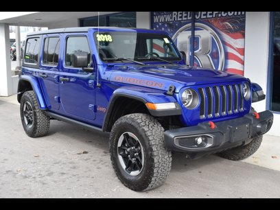 Certified 2018 Jeep Wrangler 4WD Unlimited Rubicon - 544213728