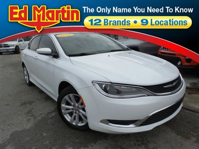Used 2016 Chrysler 200 Limited - 543972846