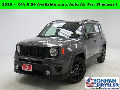 New 2020 Jeep Renegade Altitude - 548371533