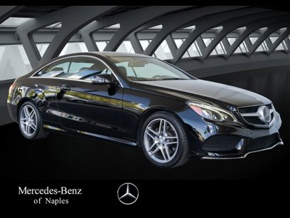 Used 2017 Mercedes-Benz E 400 Coupe - 533473760