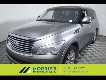 Used 2014 INFINITI QX80 4WD w/ Theater Package - 565440113