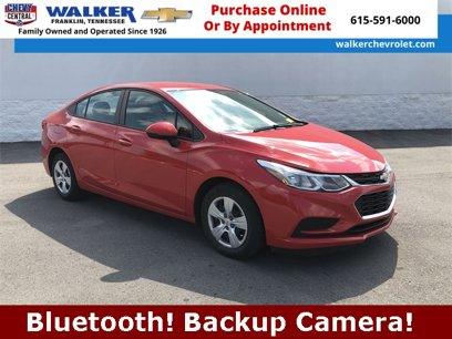Certified 2017 Chevrolet Cruze LS Sedan - 564237095