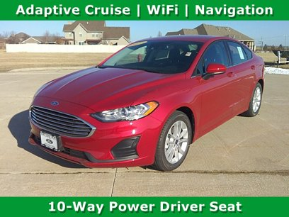New 2020 Ford Fusion SE - 545174244
