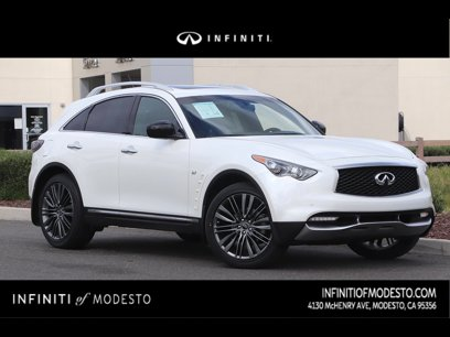 Certified 2017 INFINITI QX70 AWD w/ Limited Package - 546456642