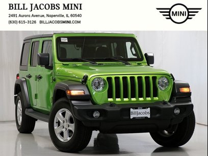 Used 2018 Jeep Wrangler Unlimited Sport - 603929475