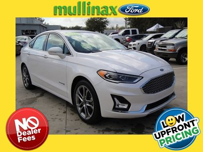 Certified 2019 Ford Fusion Titanium Hybrid - 541803834