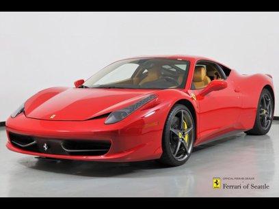 Used 2011 Ferrari 458 Italia Coupe - 520930693