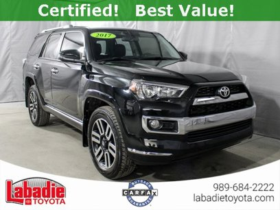 Certified 2017 Toyota 4Runner Limited - 544897687
