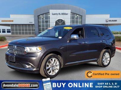 Certified 2020 Dodge Durango AWD Citadel - 567975515