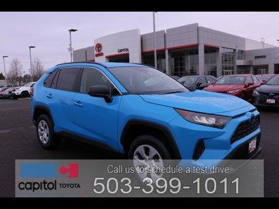 New 2020 Toyota RAV4 FWD LE - 537390795