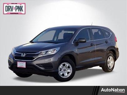 Certified 2015 Honda CR-V FWD LX - 565693969