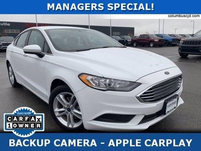 Used 2018 Ford Fusion SE - 565608646