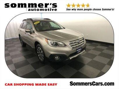 Certified 2017 Subaru Outback 2.5i Limited - 521583264