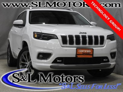 Certified 2019 Jeep Cherokee 4WD Overland - 544605388