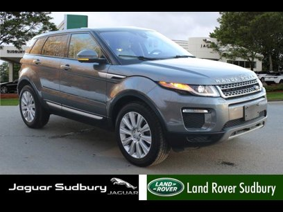 Certified 2017 Land Rover Range Rover Evoque HSE - 541394714