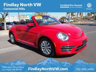 Certified 2018 Volkswagen Beetle 2.0T Convertible - 548550732