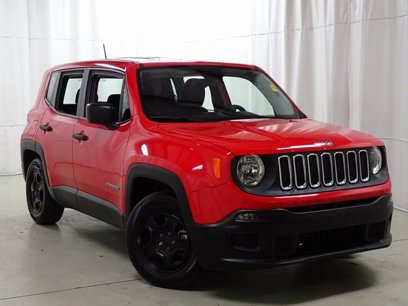 Certified 2015 Jeep Renegade FWD Sport w/ Power & Air Group - 548816886