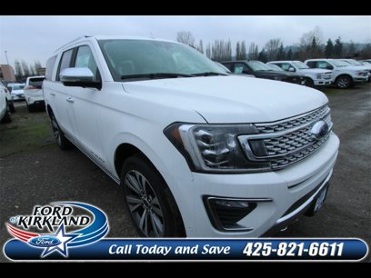 New 2020 Ford Expedition Max 4WD Platinum - 535674432