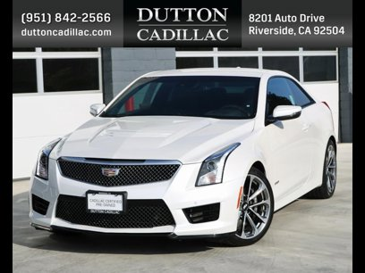 Certified 2017 Cadillac ATS V Coupe w/ LUXURY PACKAGE - 532297193