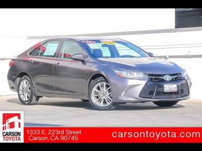 Certified 2015 Toyota Camry SE - 543109952