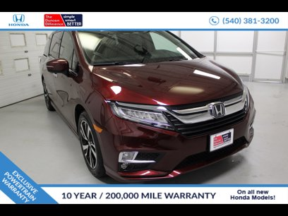 New 2020 Honda Odyssey Elite - 538886874