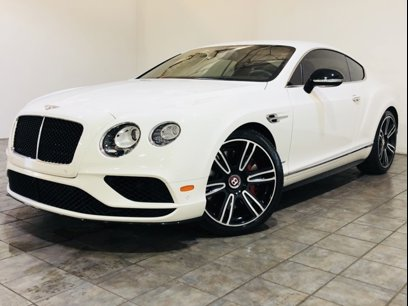 Used 2017 Bentley Continental Gt V8 S Coupe