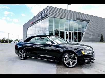 Certified 2017 Audi S5 3.0T Cabriolet - 547838183
