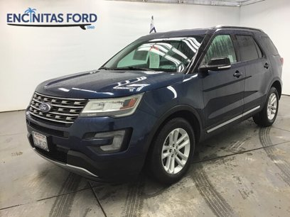 Certified 2017 Ford Explorer FWD XLT - 547900817