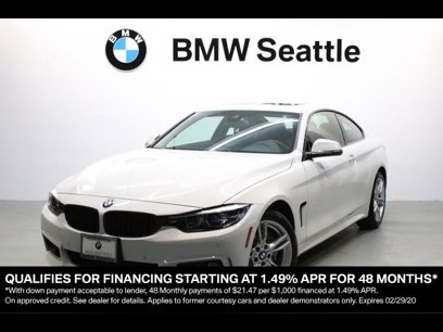 Certified 2020 BMW 430i xDrive Coupe w/ M Sport Package - 541668202