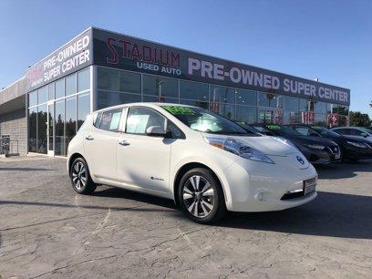 Certified 2017 Nissan Leaf SV - 540558182