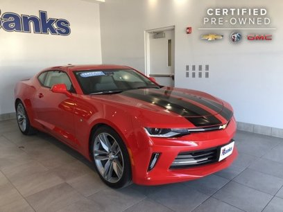 Certified 2018 Chevrolet Camaro LT Coupe w/ 1LT - 512132994