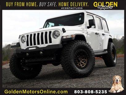 Used 2019 Jeep Wrangler 4WD Unlimited Sahara - 533833113