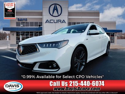 Certified 2019 Acura TLX V6 w/ Technology & A-SPEC Pkg - 491283111