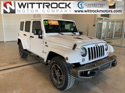 Certified 2017 Jeep Wrangler Unlimited Sahara - 541327391