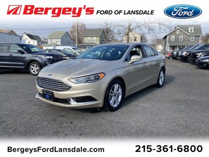 Certified 2018 Ford Fusion SE - 545565174