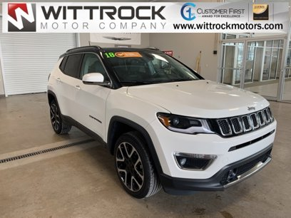 Certified 2018 Jeep Compass 4WD Limited - 542136693