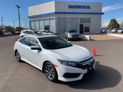 Certified 2018 Honda Civic EX Sedan - 568126573