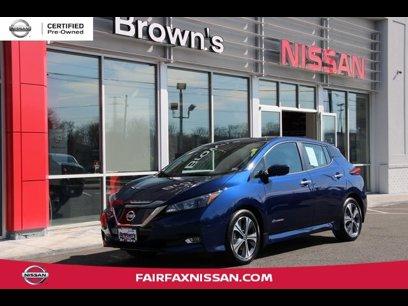 Certified 2019 Nissan Leaf SV - 545191932