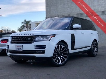 Used 2017 Land Rover Range Rover - 537265406
