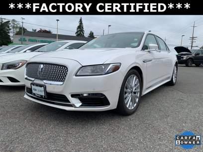 Certified 2017 Lincoln Continental AWD Select - 558934650