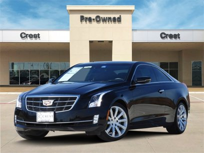 Certified 2017 Cadillac ATS 2.0T Luxury Coupe - 537270522