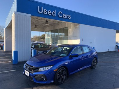 Certified 2018 Honda Civic EX Hatchback - 565689845