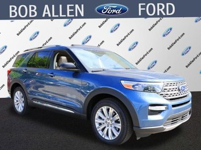 New 2020 Ford Explorer 4WD Limited - 522234552
