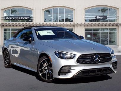 New 2021 Mercedes-Benz E 450 Cabriolet - 568399082