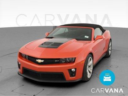 Used 2013 Chevrolet Camaro ZL1 Convertible - 568626327