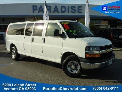 Certified 2018 Chevrolet Express 3500 LT Extended Passenger - 537469895